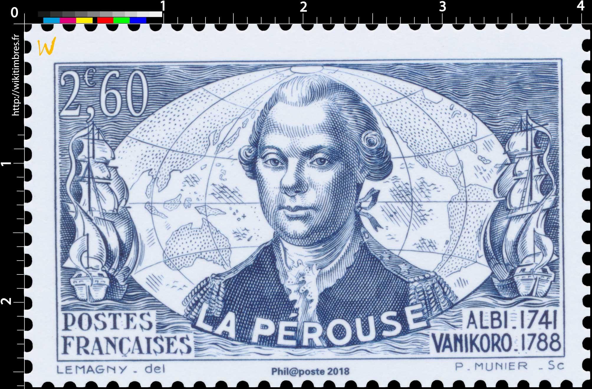 Trésors de la Philatélie 2018 - LA PÉROUSE ALBI-1741 VANIKORO-1788