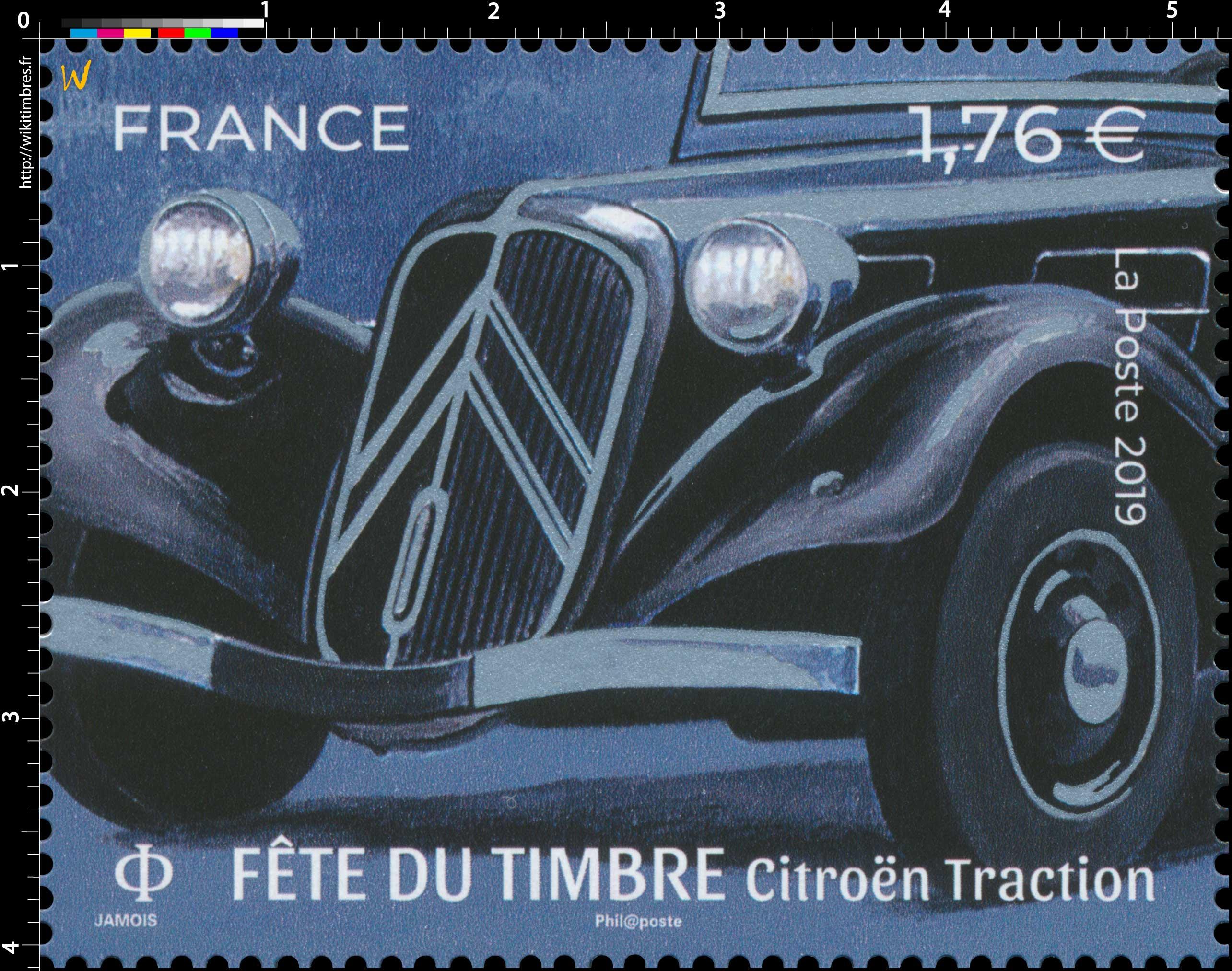 2019 Fête du Timbre 2019  Citroën Traction