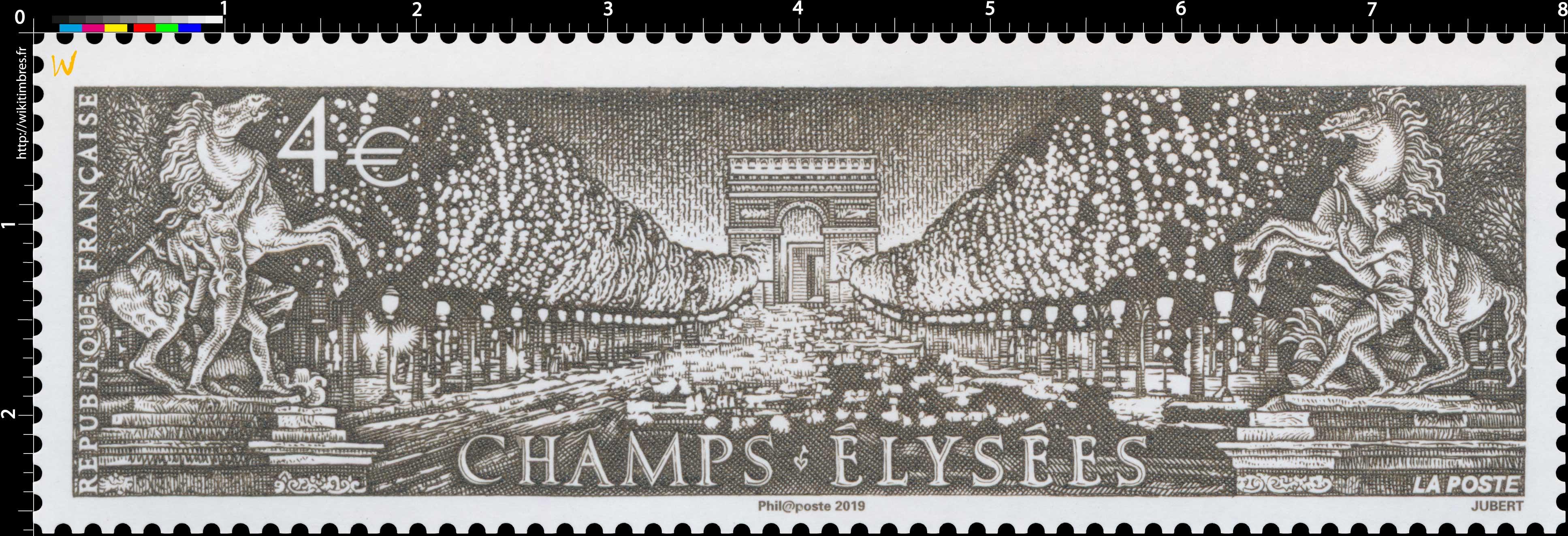 2019 CHAMPS-ÉLYSÉES