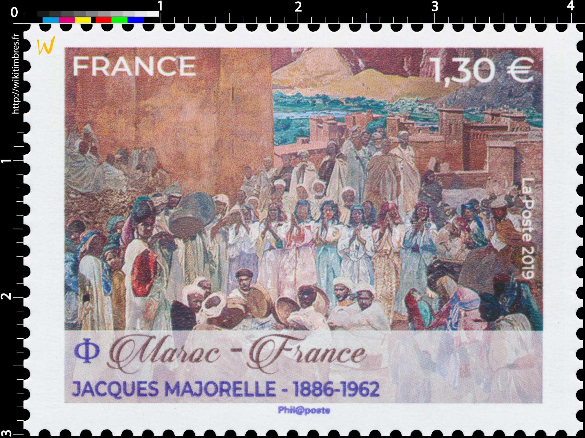 2019 Maroc - France Jacques Majorelle 1886-1962
