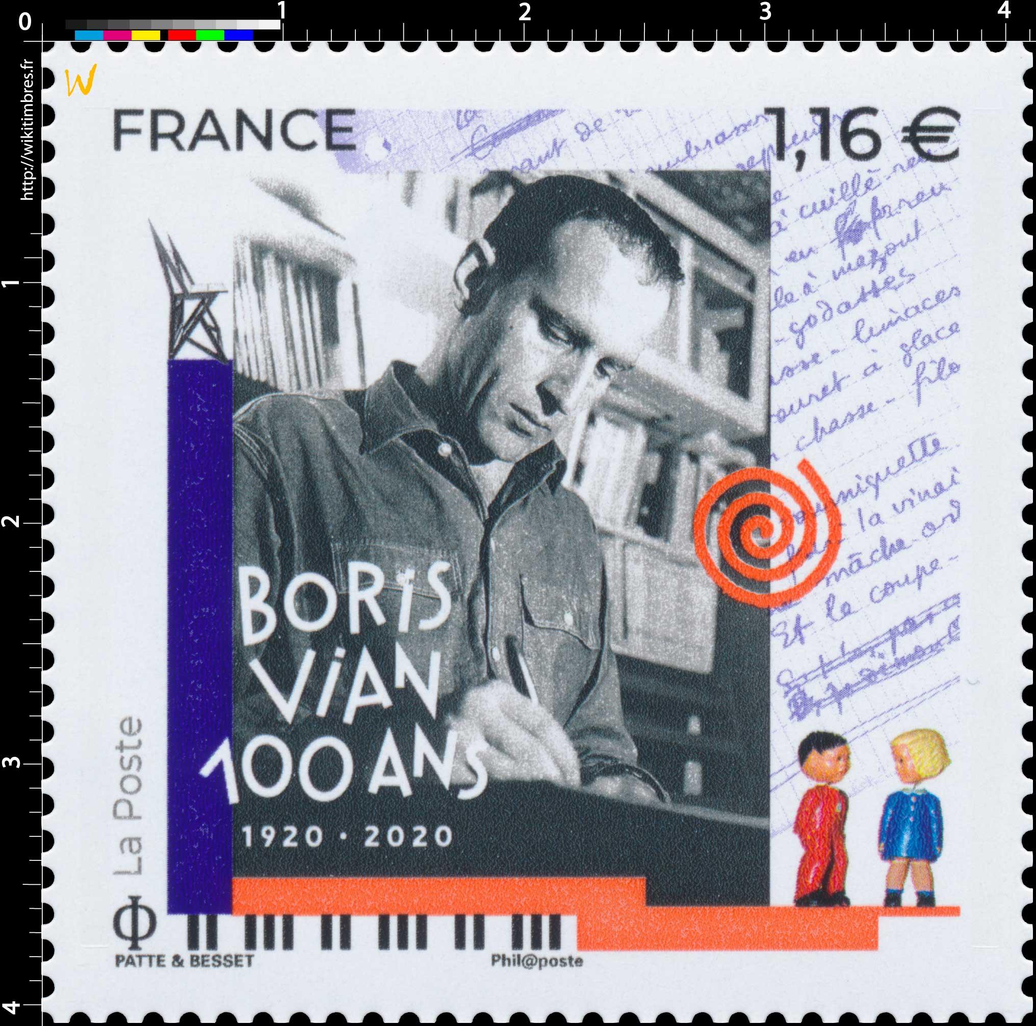 BORIS VIAN 100 ANS 1920 - 2020