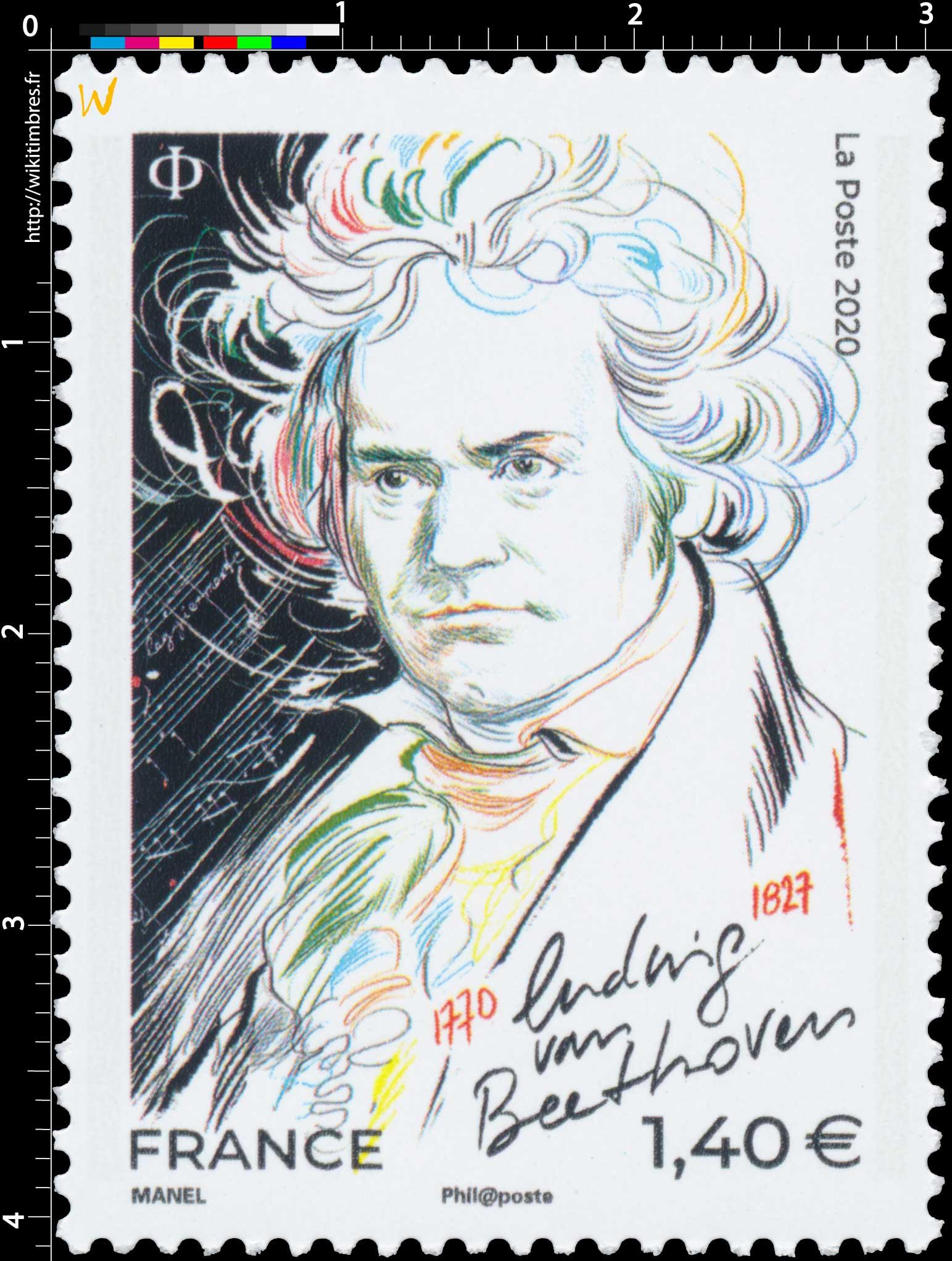 2020 Ludwig VAN BEETHOVEN 1770-1827