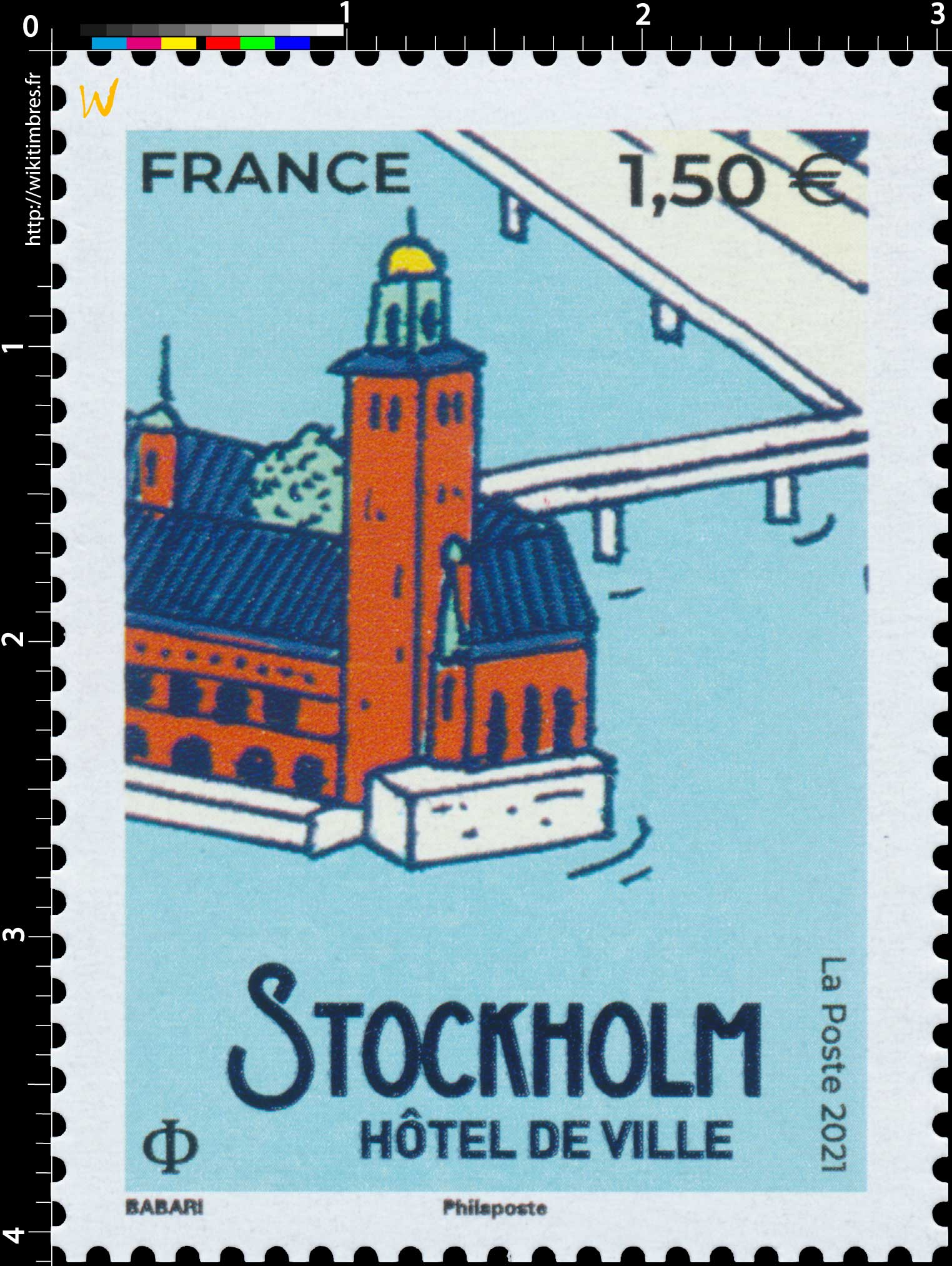 2021 STOCKHOLM - Hôtel de ville