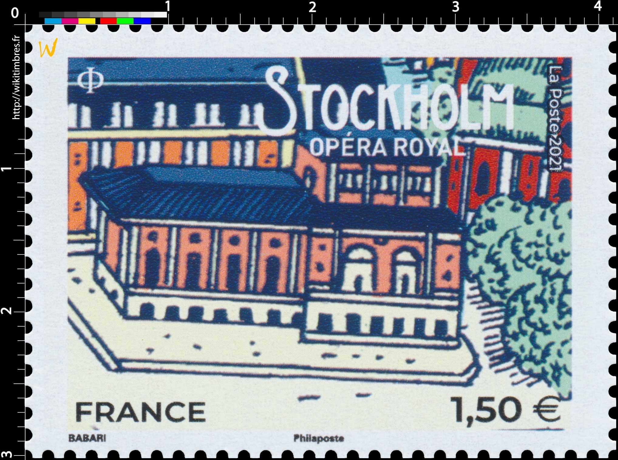 2021 STOCKHOLM - Opéra royal