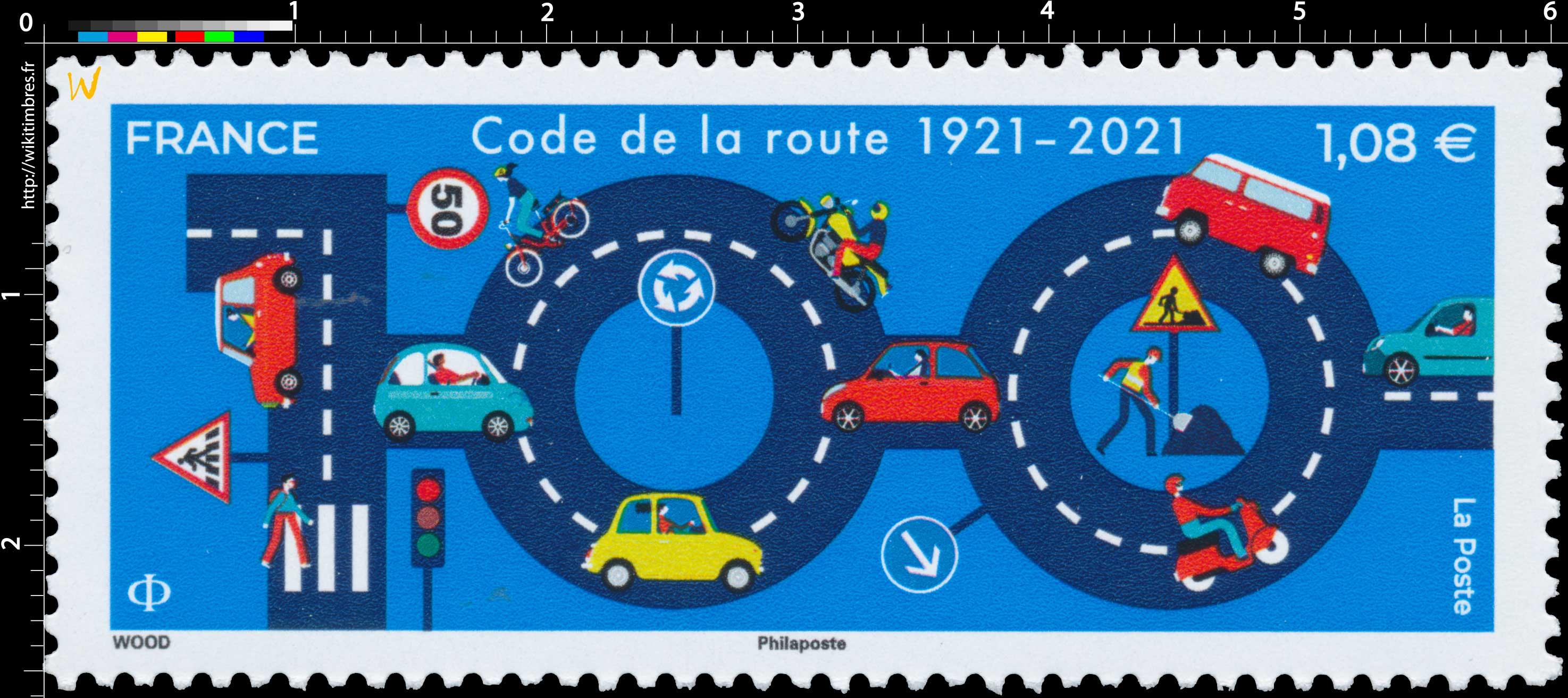 2021 Code de la route 1921 -  2021