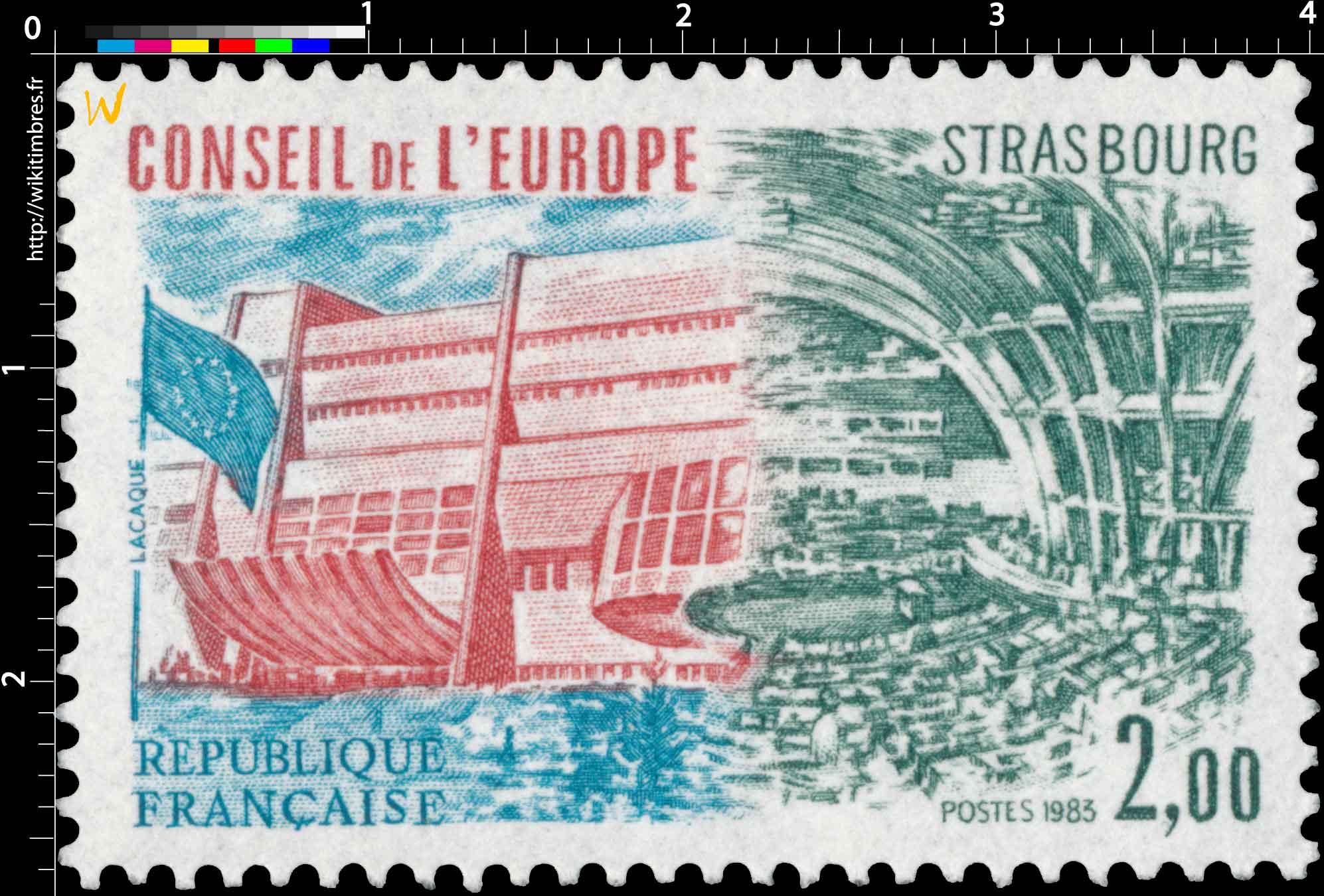 1983 CONSEIL DE L'EUROPE STRASBOURG