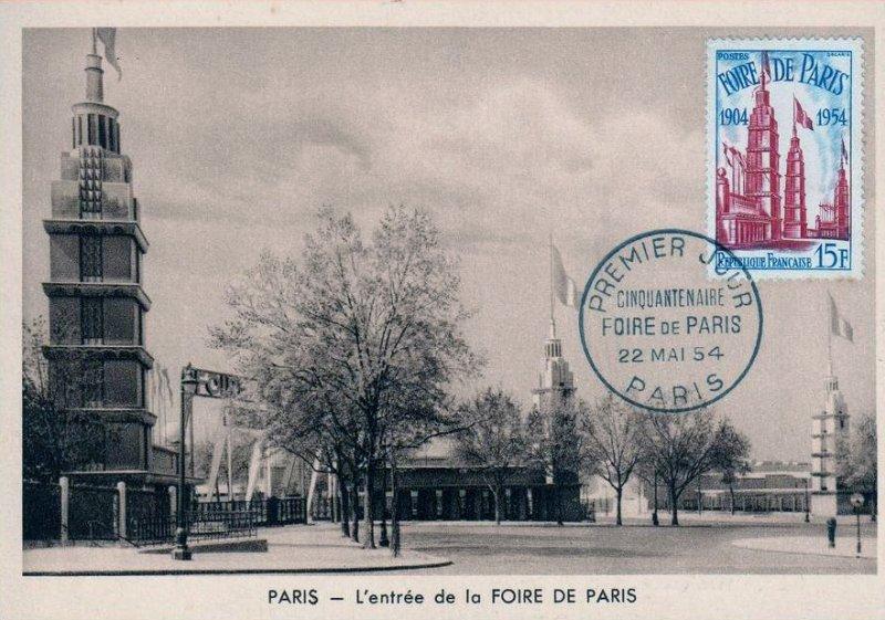 timbre foire de paris 1904 1954 wikitimbres. Black Bedroom Furniture Sets. Home Design Ideas
