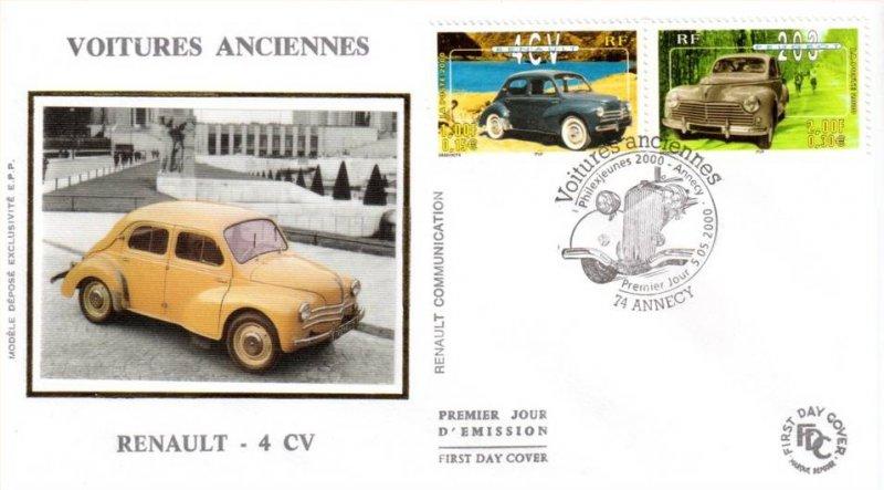 timbre   2000 renault 4 cv